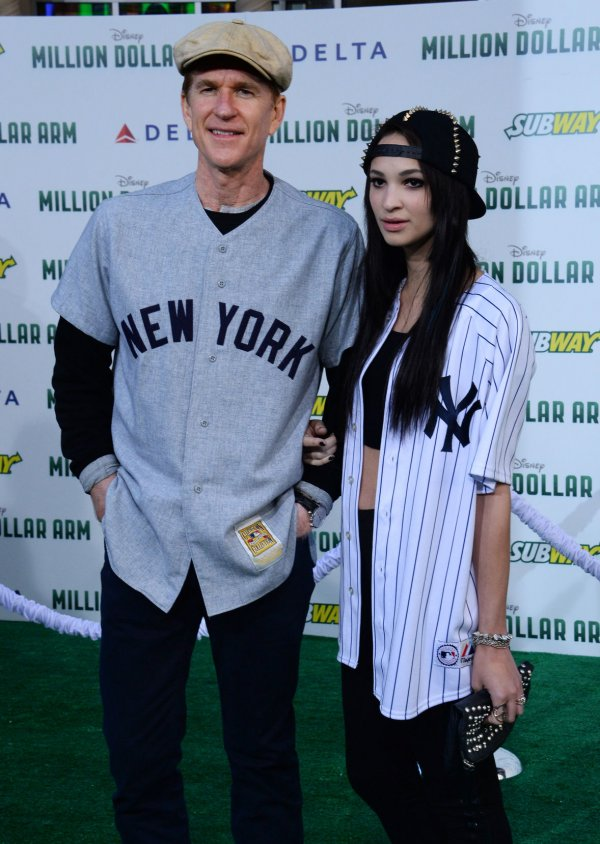 Matthew Modine and his daughter Ruby