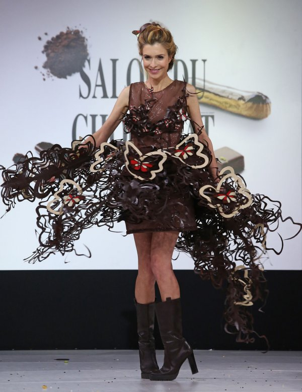 2014 Chocolate Fashion Show in Paris - UPI.com
