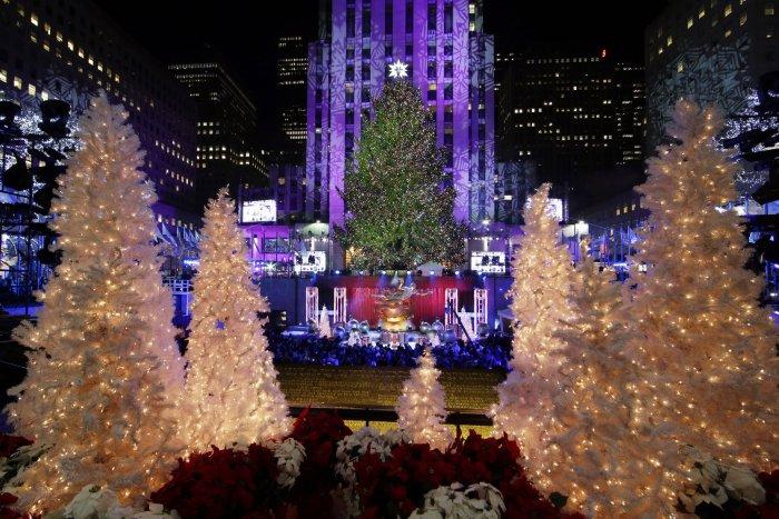 2014 Rockefeller Center Christmas Tree Lighting Ceremony