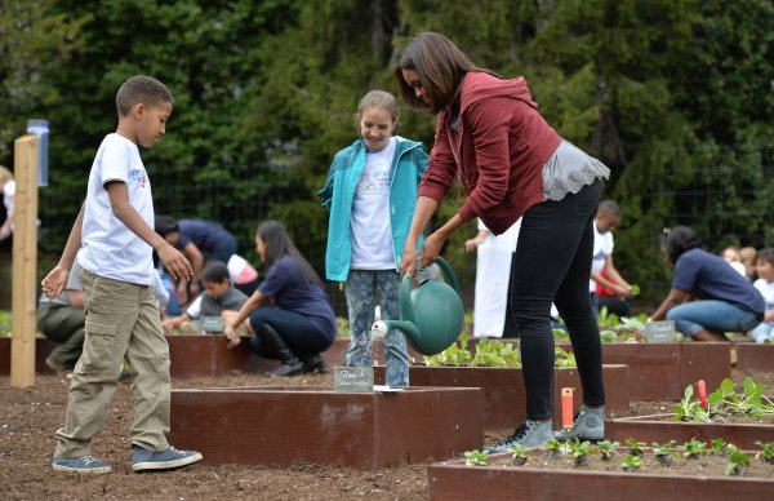 Michelle Obama White House Garden Video