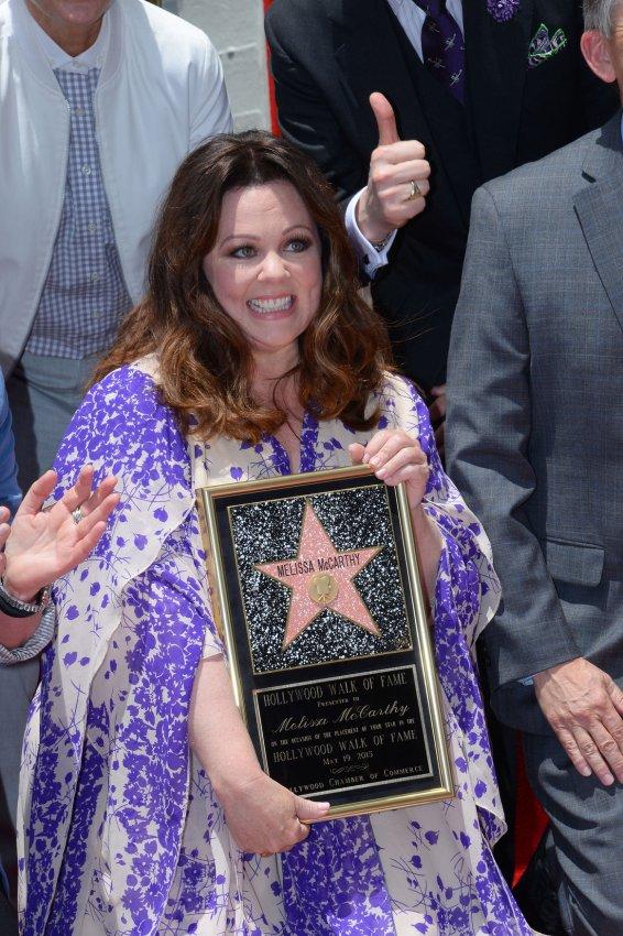 Melissa Mccarthy gets Hollywood Walk of Fame star