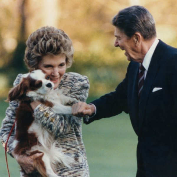 Dog In Reagan White House