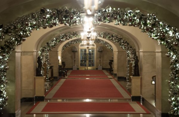 White House Holiday Decorations 2015