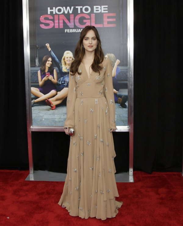 Dakota Johnson Arrives On The Red Carpet At The New York Premiere Of