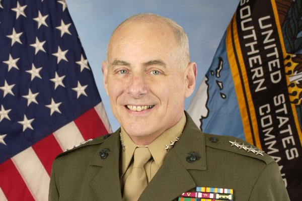 Gen. John F. Kelly -- Secretary for the Department of Homeland Security