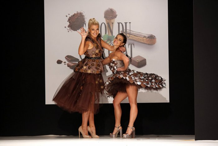 On the runway at the 22nd annual salon du chocolat in - Salon du chocolat rodez ...