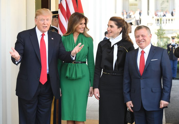 President Donald Trump Meets With Jordans King Abdullah II15 Images