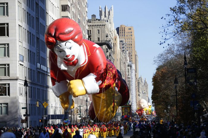 92nd Macy's Thanksgiving Day Parade in New York