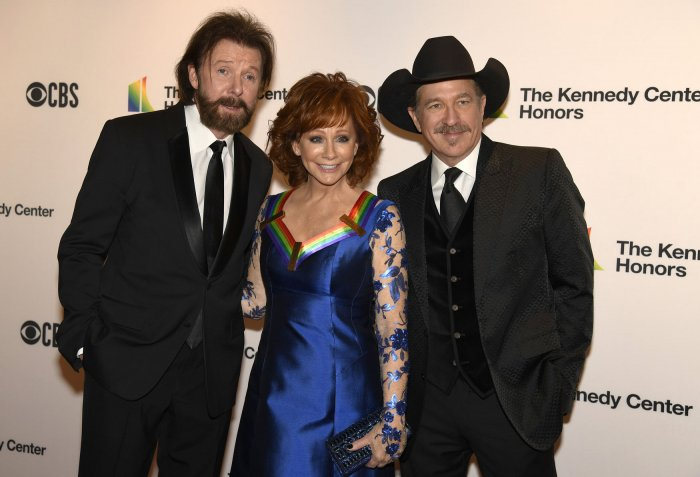 Reba McEntire arrives for Kennedy Center Honors Gala in Washington DC