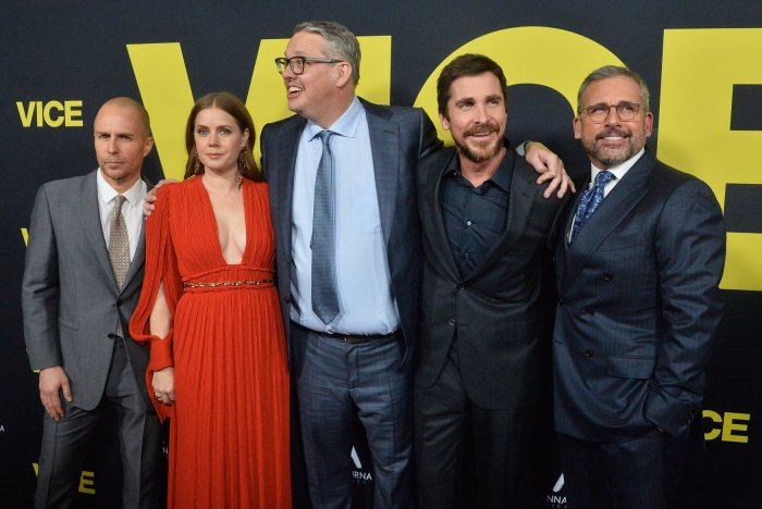 In Photos The Cast Of Vice Attends The Premiere Slideshow Upicom