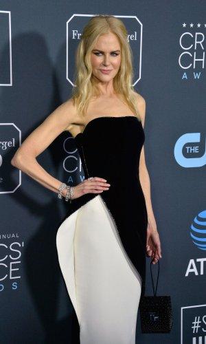 Nicole Kidman attends Critics' Choice Awards in Santa Monica