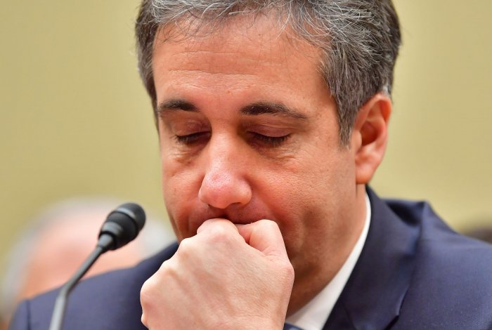 Attorney Michael D. Cohen testifies before Congress