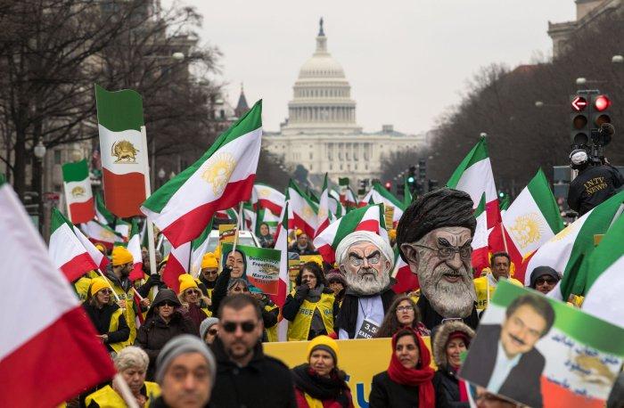 Iran Protest in Washington, D.C.
