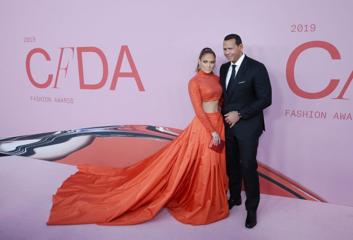 Jennifer Lopez at the 2019 CFDA fashion awards
