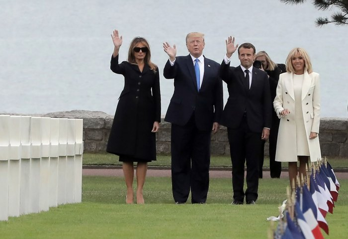In photos: France honors World War II veterans on 75th ...  In photos: Fran...