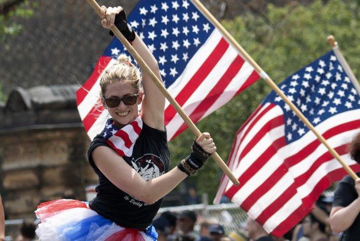 July Fourth in Washington, D.C.