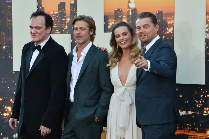 """Quentin Tarantino and cast attend the """"Once Upon A Time... In Hollywood"""" premiere in Los Angeles"""
