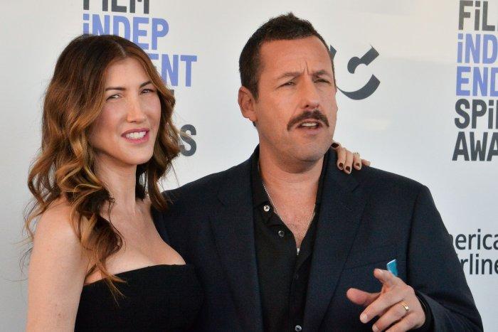 Jackie Sandler and Adam Sandler attend the Film Independent Spirit Awards in Santa Monica