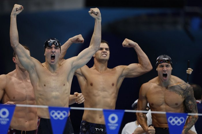, Caeleb Dressel's dominant day boosts USA's Olympic medal lead, Forex-News, Forex-News