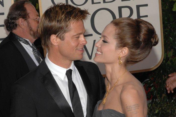 1bb1b34ddd Angelina Jolie and Brad Pitt through the years - Slideshow - UPI.com