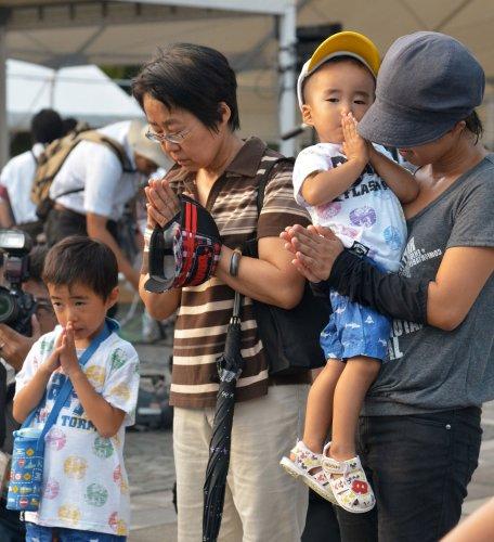 The 70th Anniversary Of The Nagasaki Atomic Bombing