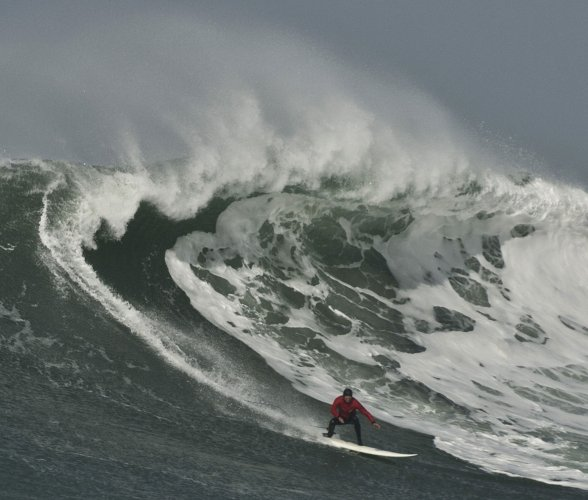 Titans of Mavericks at Half Moon Bay - Slideshow - UPI com