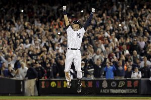 Derek Jeter's final game at Yankee Stadium