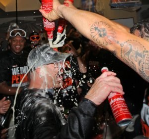San Francisco Giants win National League championship