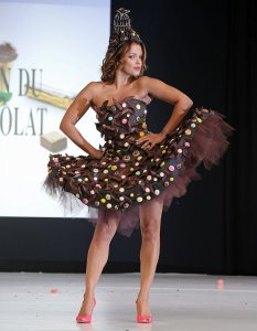 2014 Chocolate Fashion Show in Paris
