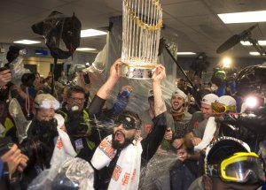 San Francisco Giants win 2014 World Series