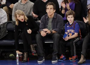 Celebs at Knicks home opener