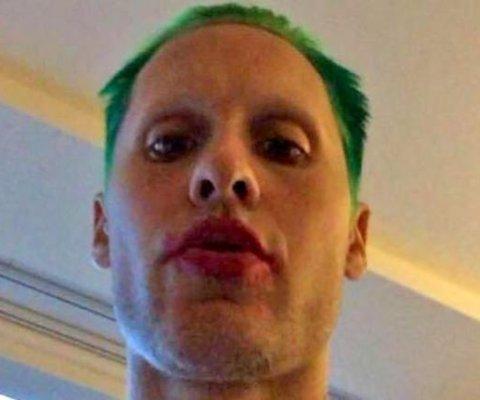 Jared Leto comparte nueva foto como el Guasón de 'Suicide Squad'
