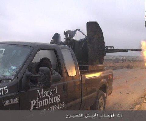 Plomero de Texas demanda a Ford por camioneta que terminó en manos de extremistas en Siria