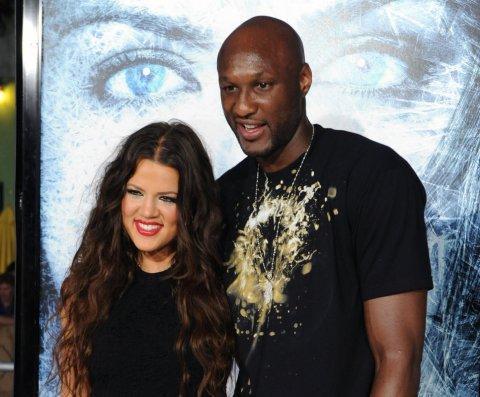 Lamar Odom hace senderismo con Kim y Khloe Kardashian