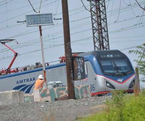 Tren de Amtrak se descarriló en Vermont