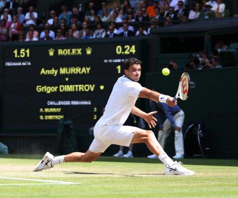 Wimbledon se jugará bajo altas temperaturas históricas