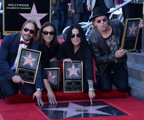 Maná recibe estrella en el Paseo de la Fama de Hollywood