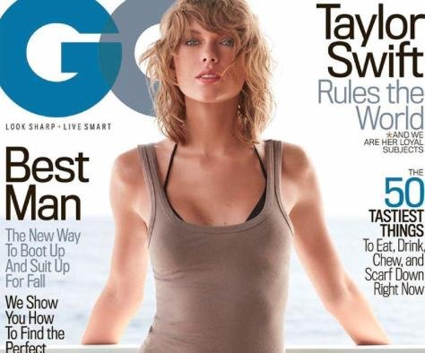 Taylor Swift cubre nueva edición de GQ en ropa de playa