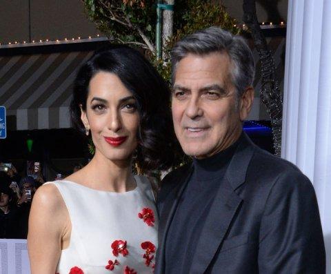 Amal y George Clooney hablan por FaceTime a menudo