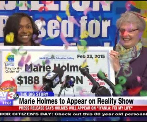 Ganadora de lotería que usó $20M para sacar a novio de cárcel aparecerá en serie