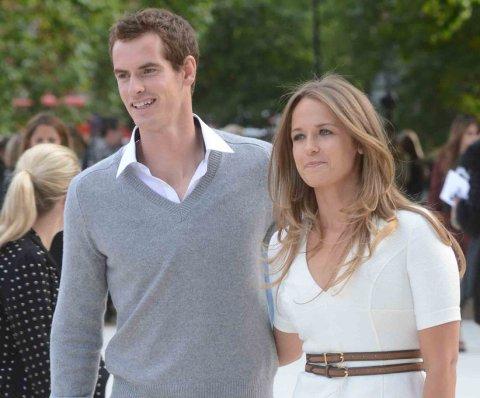 Andy Murray y su esposa Kim Sears reciben su primer hijo