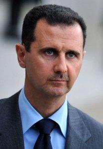 Presidente de Siria en París