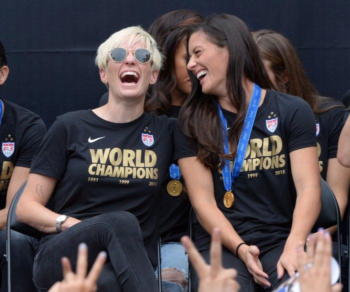 Estados Unidos celebra victoria en la Copa del Mundo