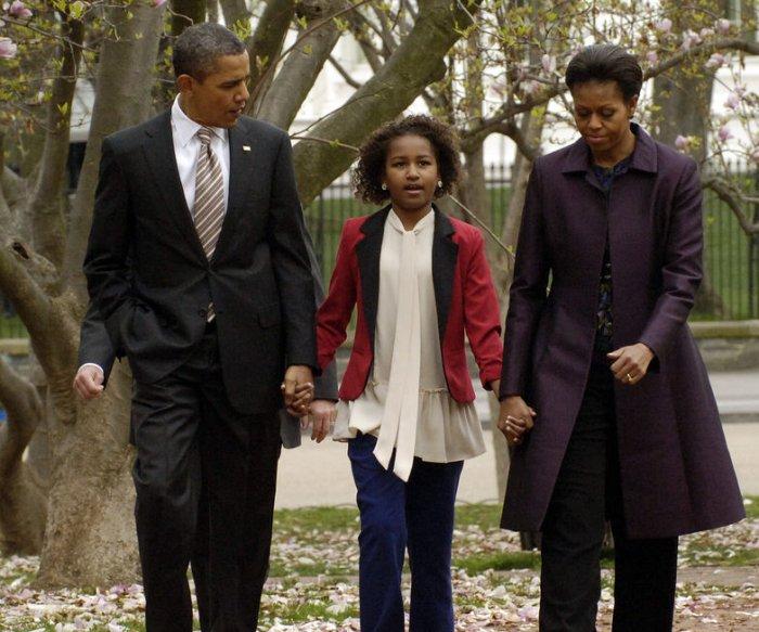 Sasha y Malia Obama a través de los años