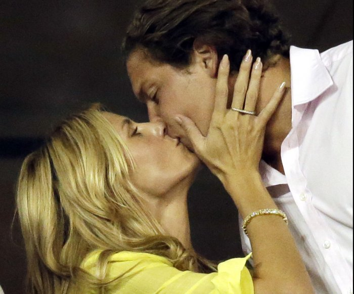Besos de celebridades