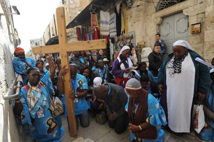 Viernes Santo en Jerusalén