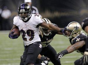 Los Ravens de Baltimore derrotaron a los Saints de Nueva Orleans