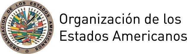 Logotipo oficial de la Organización de los Estados Americanos