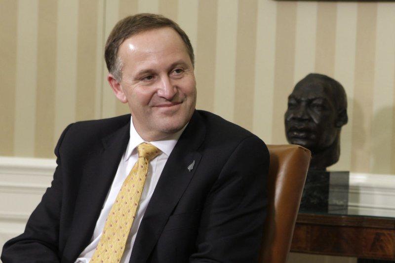 El Primer Ministro de Nueva Zelanda John Key (UPI/Yuri Gripas/POOL)