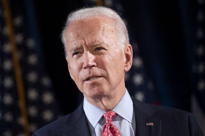 El candidato presidencial demócrata Joe Biden se comprometió el jueves a proporcionar todos los servicios actuales de Medicare a las personas cuando cumplan 60 años y otorgar la condonación de préstamos federales para estudiantes a los prestatarios que ganen menos de $125.000. Foto de Kevin Dietsch / UPI